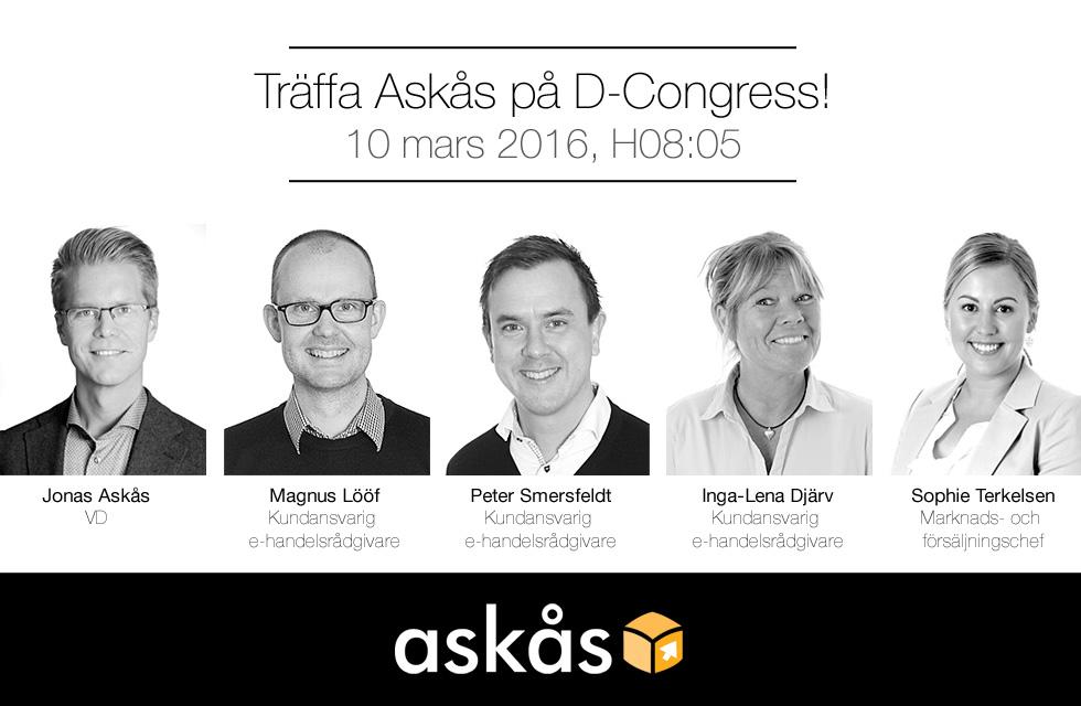 Träffa Askås på D-Congress 2016