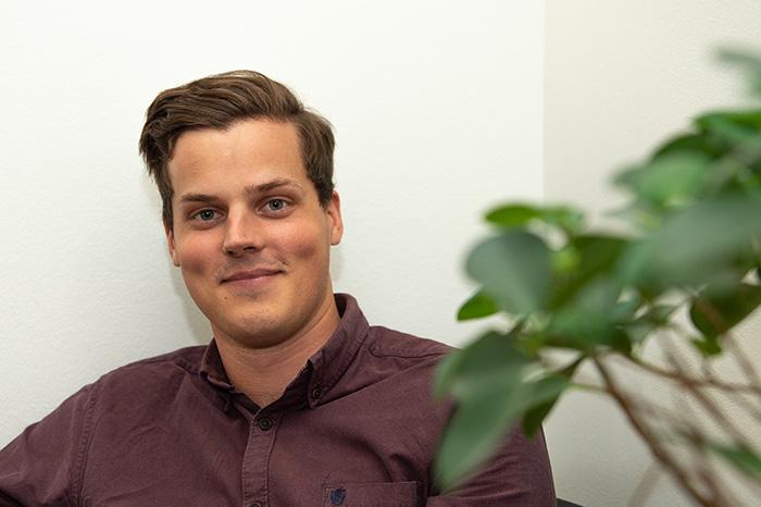 Erik Lindow backend-utvecklare