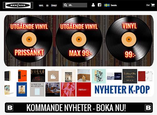 Bengans Skivbutik - Askås Marketing Automation