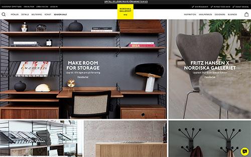 Nordiska Galleriet använder Artikelfiltrering