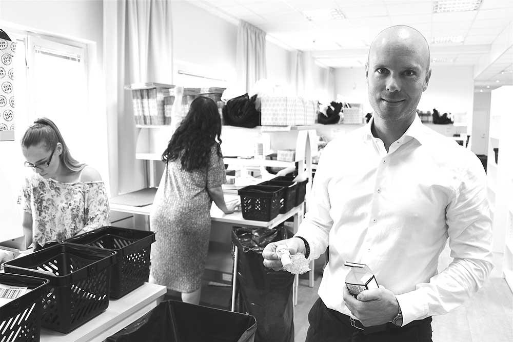 Mikael Kjellman vd Skincity