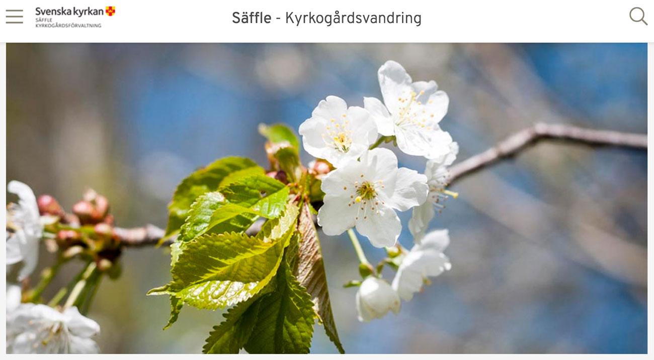 Askås har utvecklat kyrkogardsvandring.se
