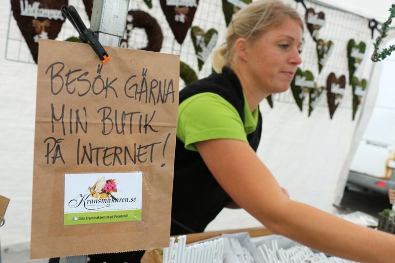Kransmakaren Eva Johansson