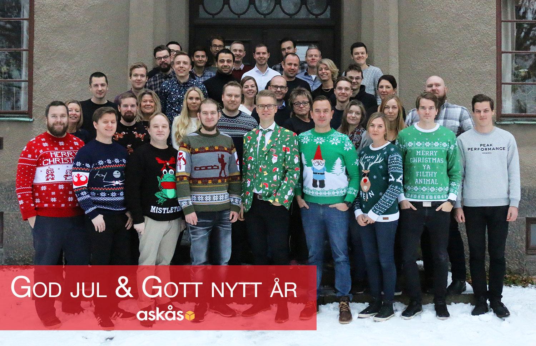 God jul och gott nytt år från Askås