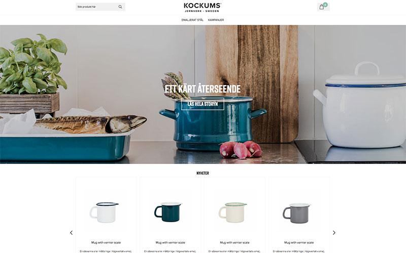 Kockums Jernverk lanserar e-handel med Askås