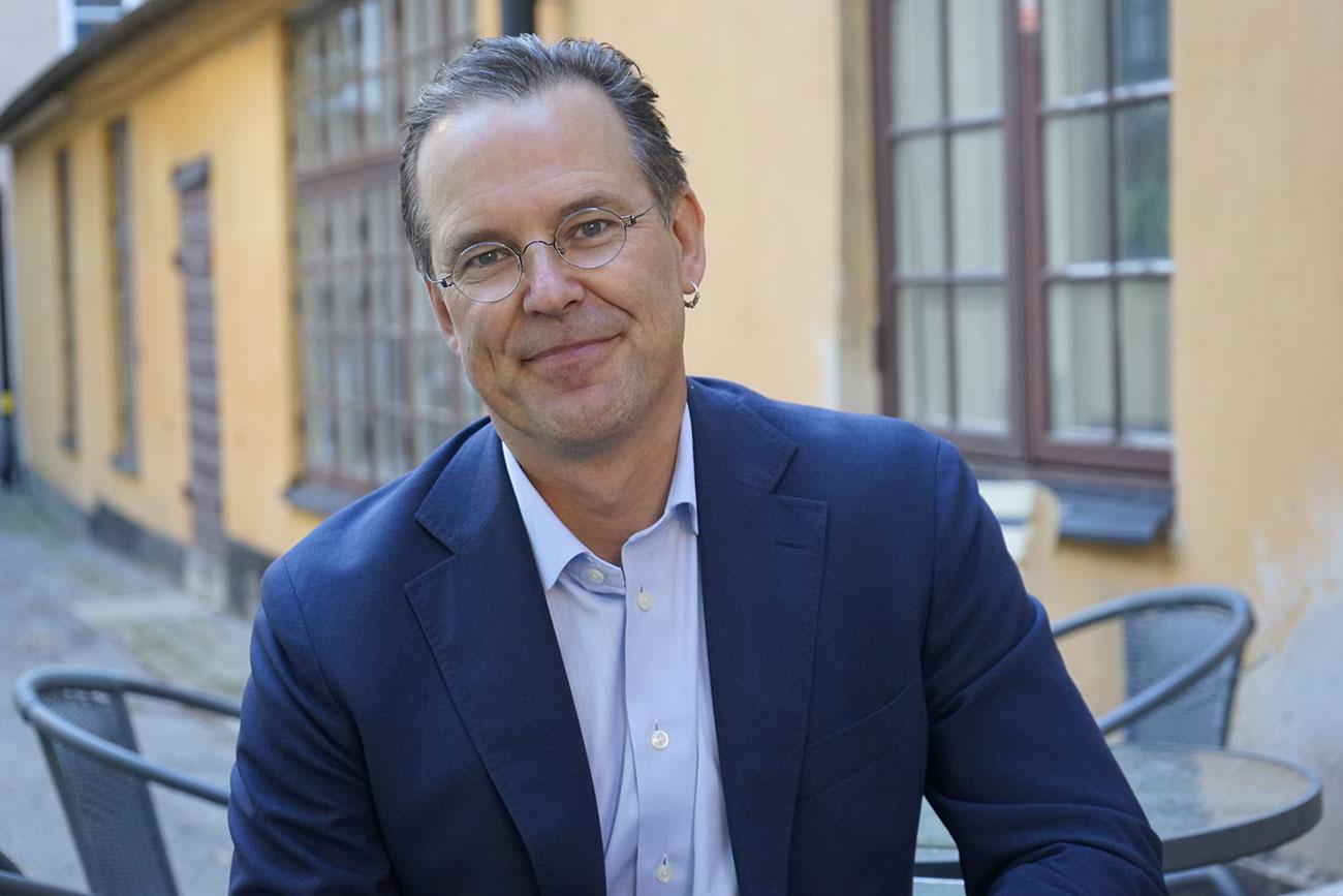 Anders Borg tala på Askås E-handelsdag