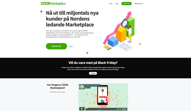 CDON och Askås - partnerskap