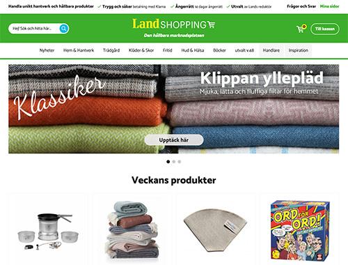 Landshopping använder Askås Marketplace