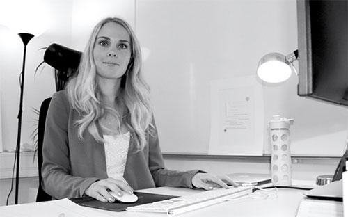 Sanna Karlin, frontend-designer