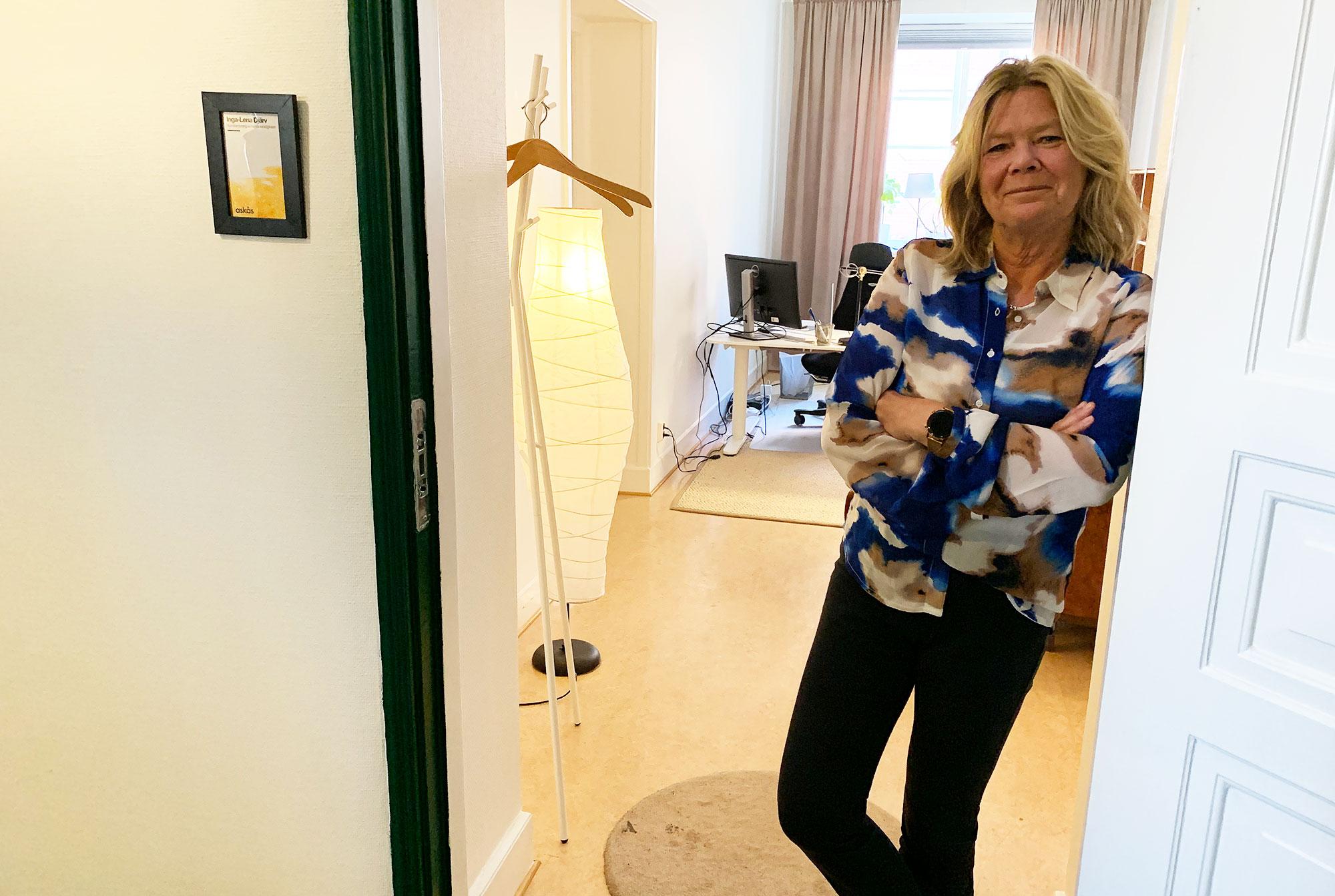 Inga-Lenar Djärv, säljare Askås