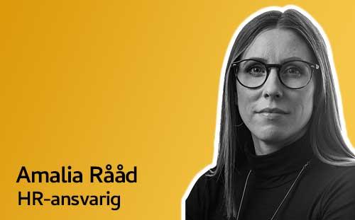 Amalia Rååd, HR-ansvarig Askås