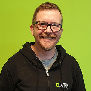 Peter Olsson, Teknikproffset