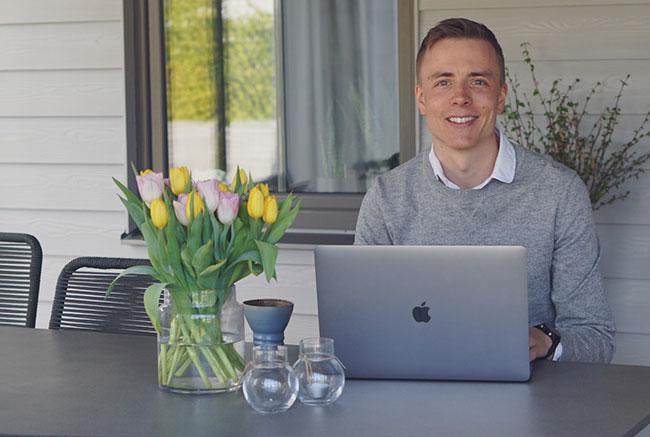 Erik Knutsson, projektledare utvecklignsgruppen
