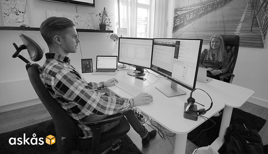 Supporttekniker hos Askås